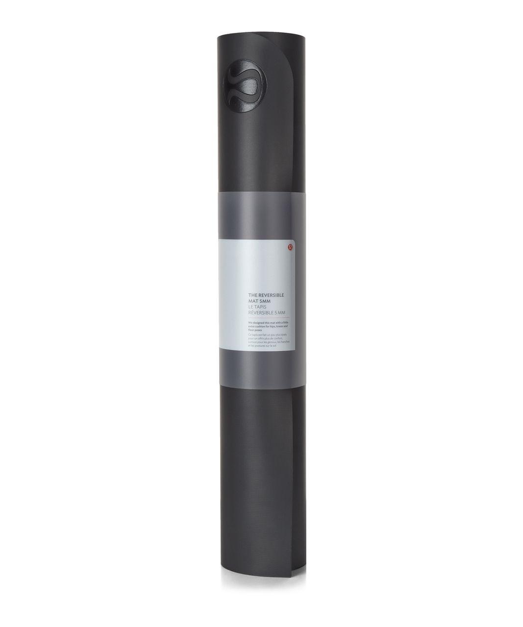 Lululemon The Reversible Mat 5mm - Black