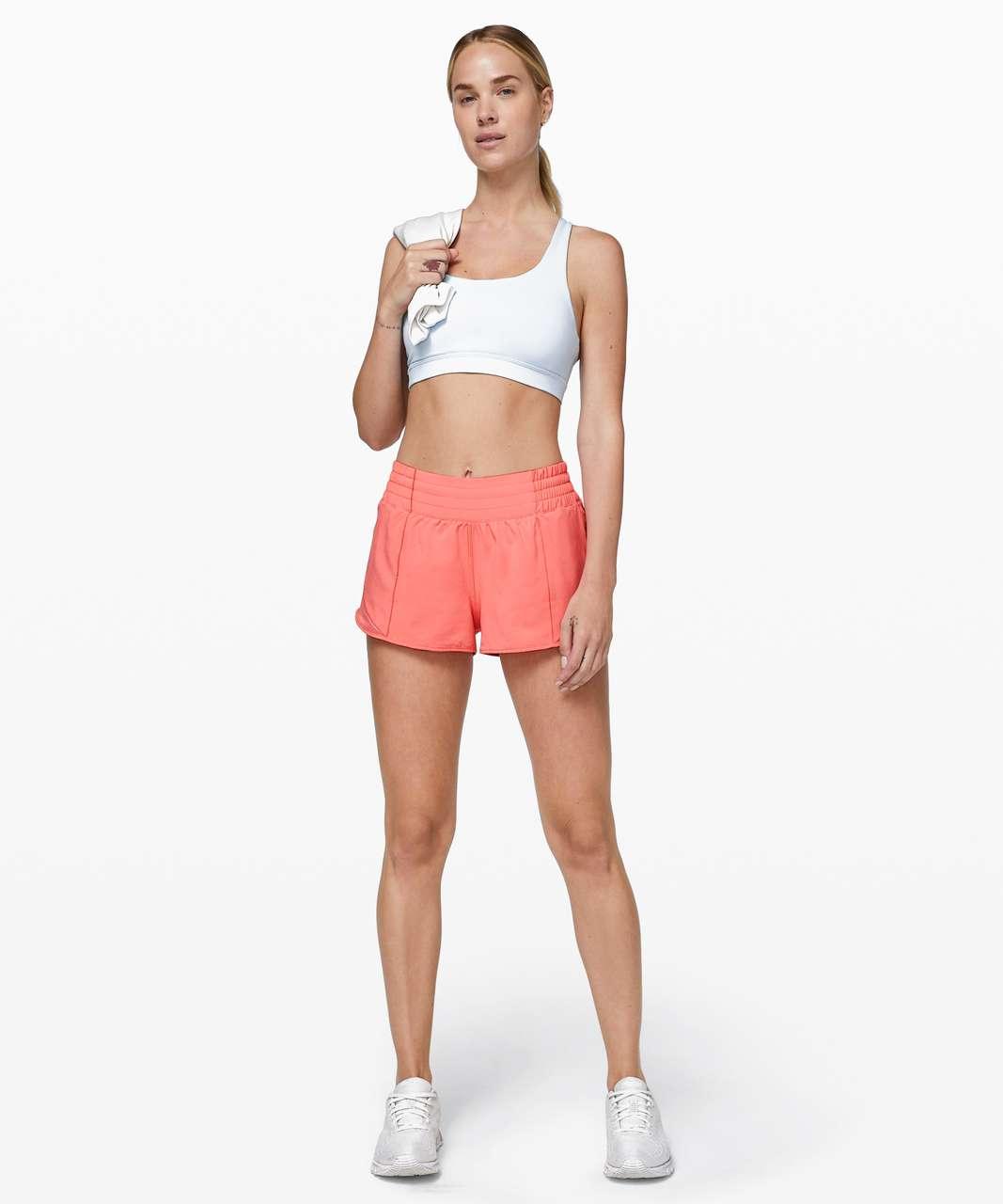 "Lululemon Hotty Hot Short *High-Rise 2.5"" - Light Coral"
