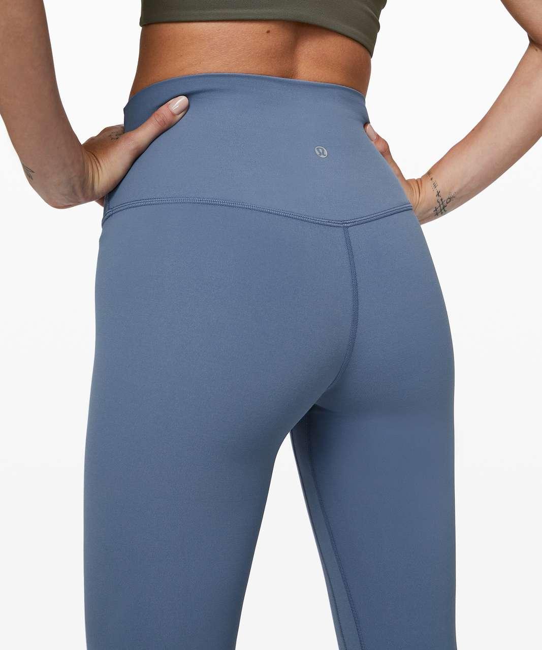 """Lululemon Align Pant II 25"""" - Oasis Blue"""