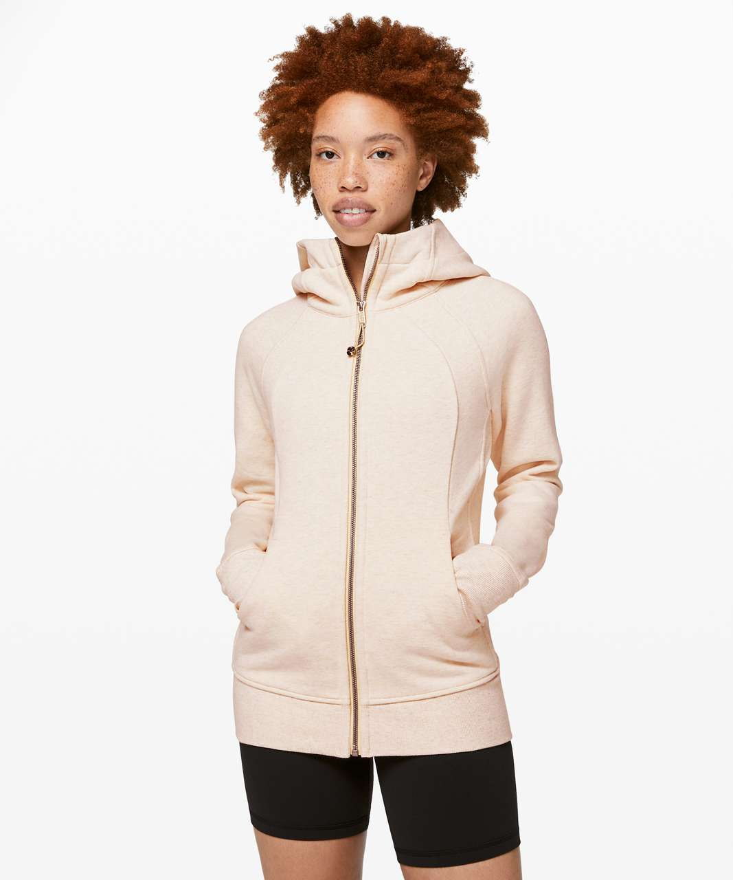 Lululemon Scuba Hoodie *Light Cotton Fleece - Heathered Sun Shower