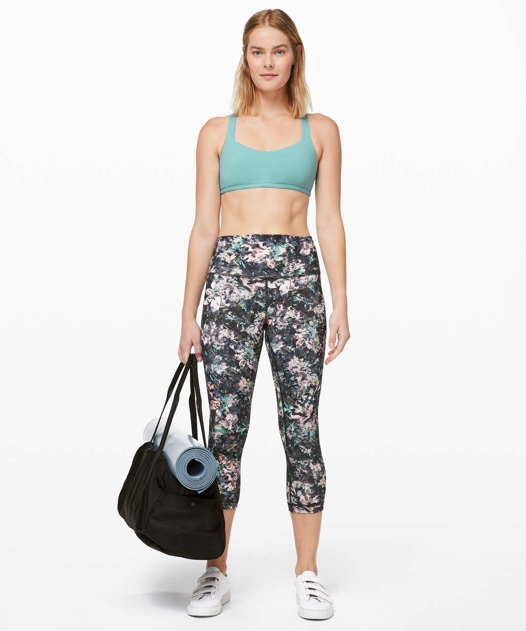 Lululemon Free To Be Bra (Wild) - Tidal Teal
