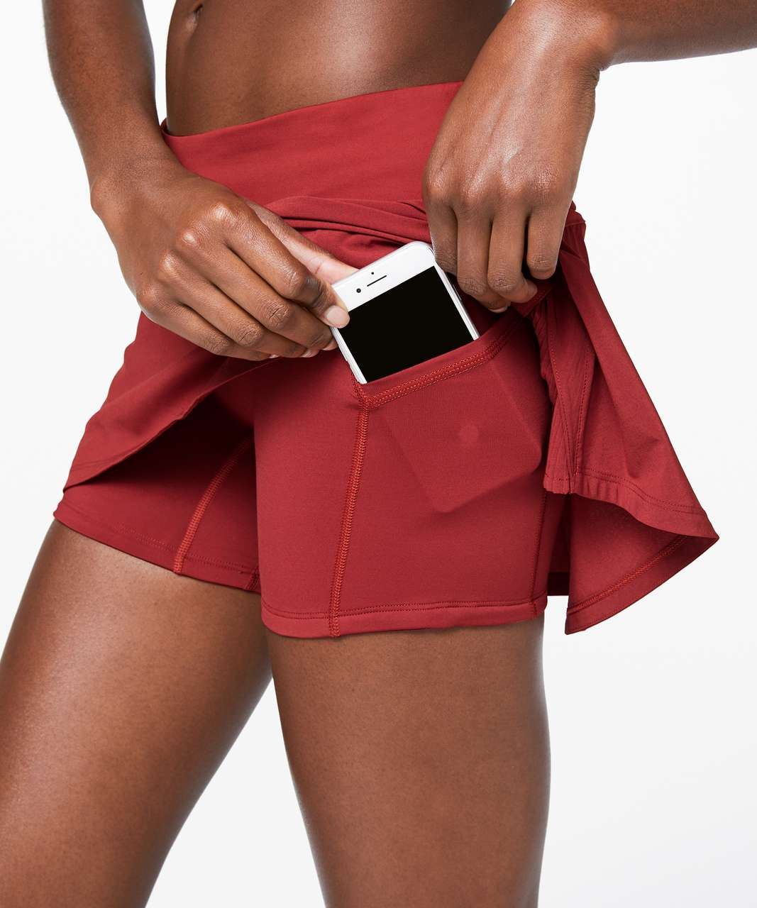 "Lululemon Play Off The Pleats Skirt *13"" - Cayenne"