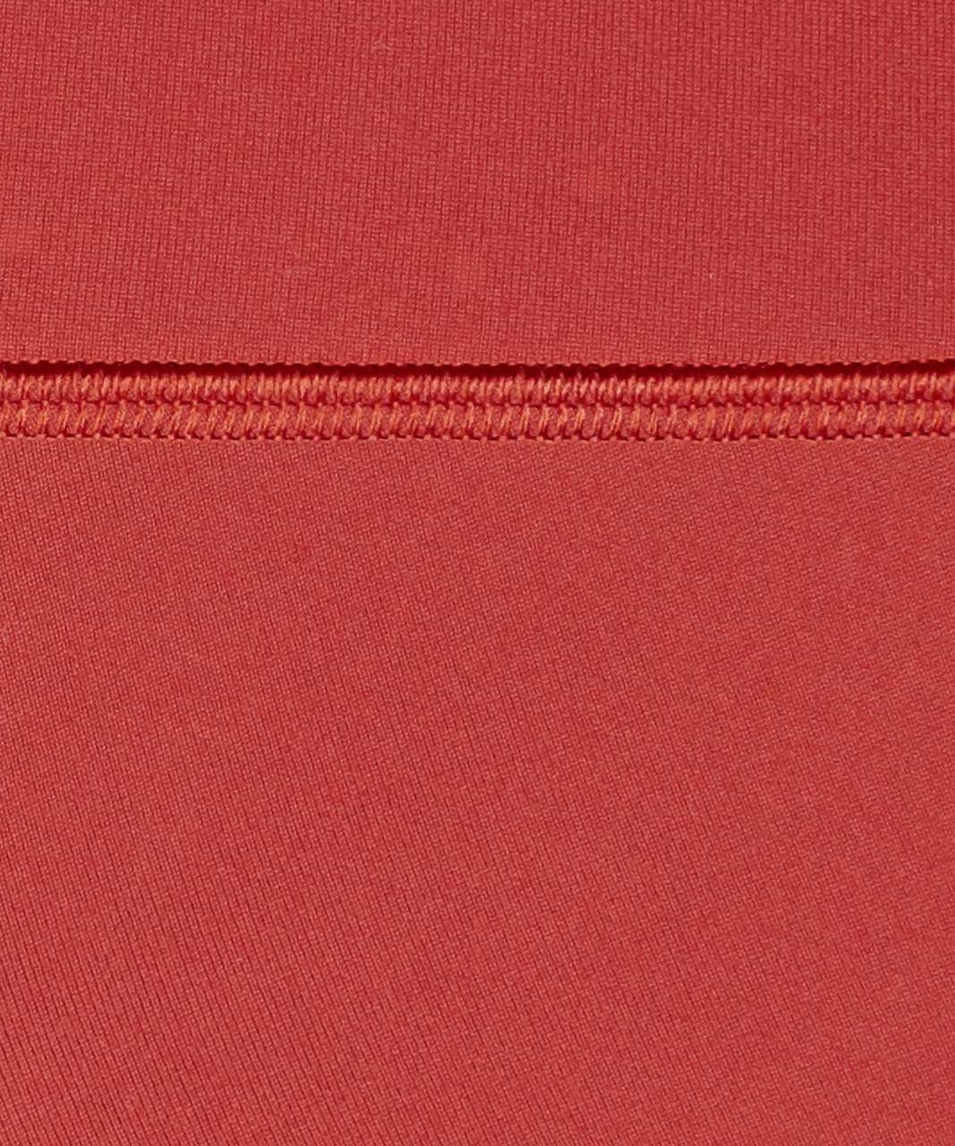 "Lululemon Wunder Under Crop (High-Rise) *Full-On Luon 21"" - Cayenne"
