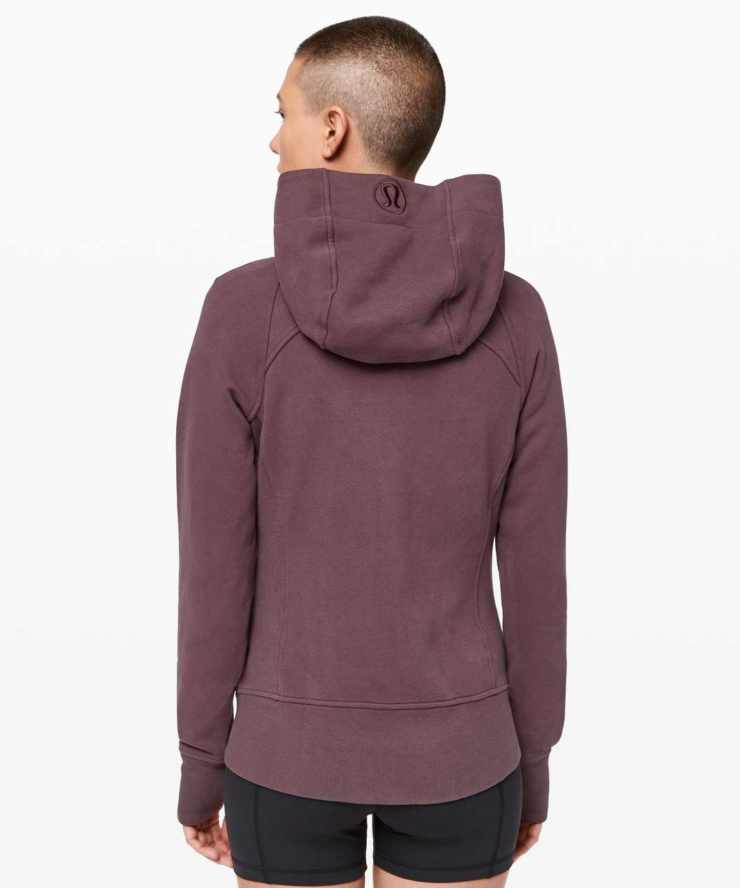 Lululemon Scuba Hoodie *Light Cotton Fleece - Cherry Cola