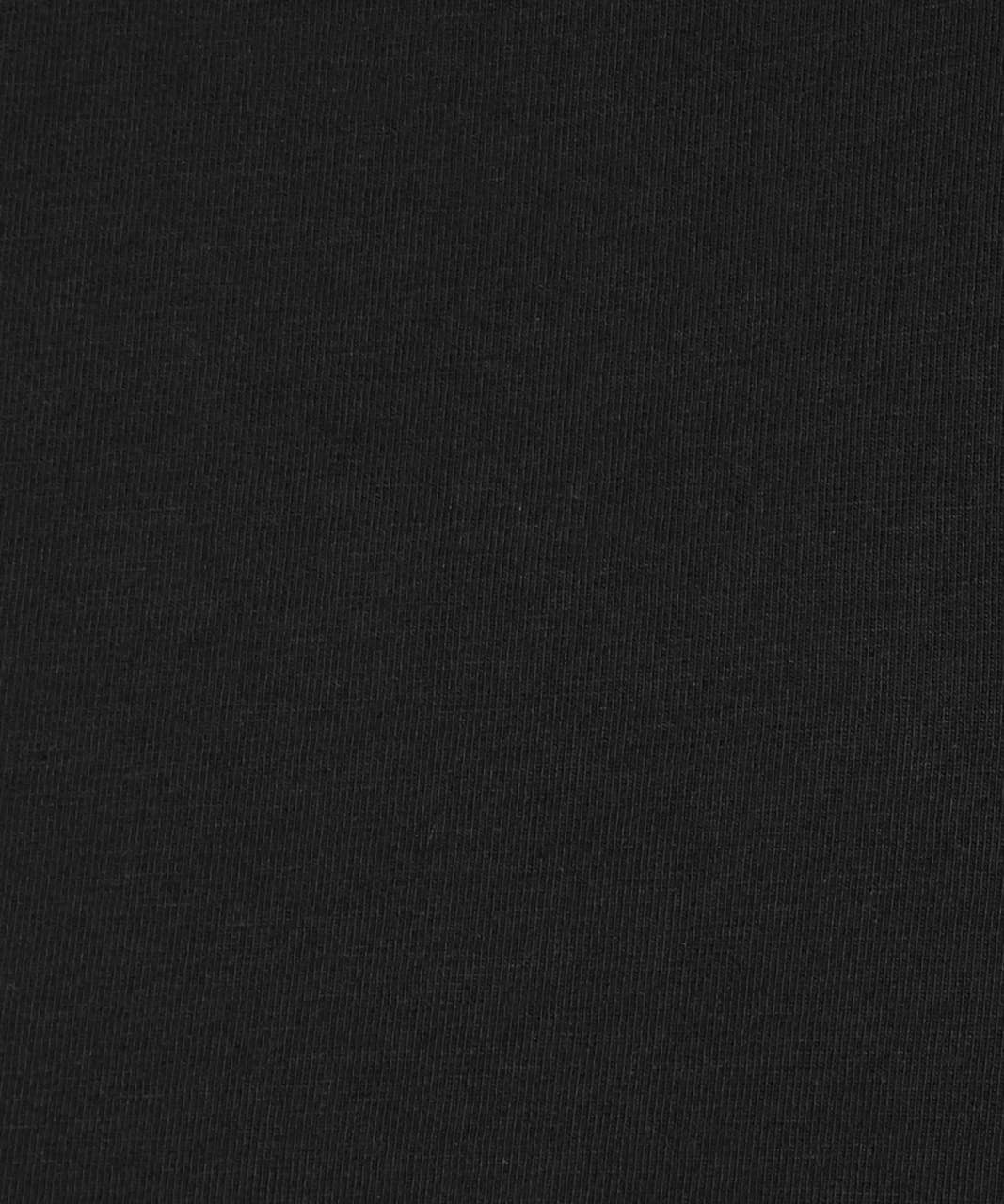 Lululemon Back In Action Long Sleeve - Black