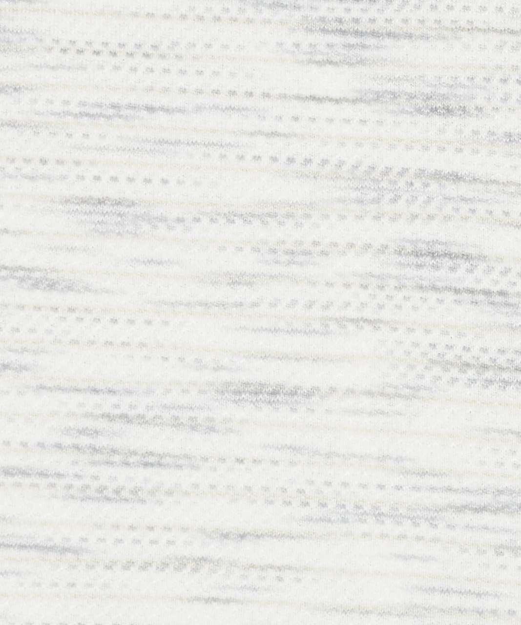 Lululemon Essential Tank - Tiger Space Dye Hail White