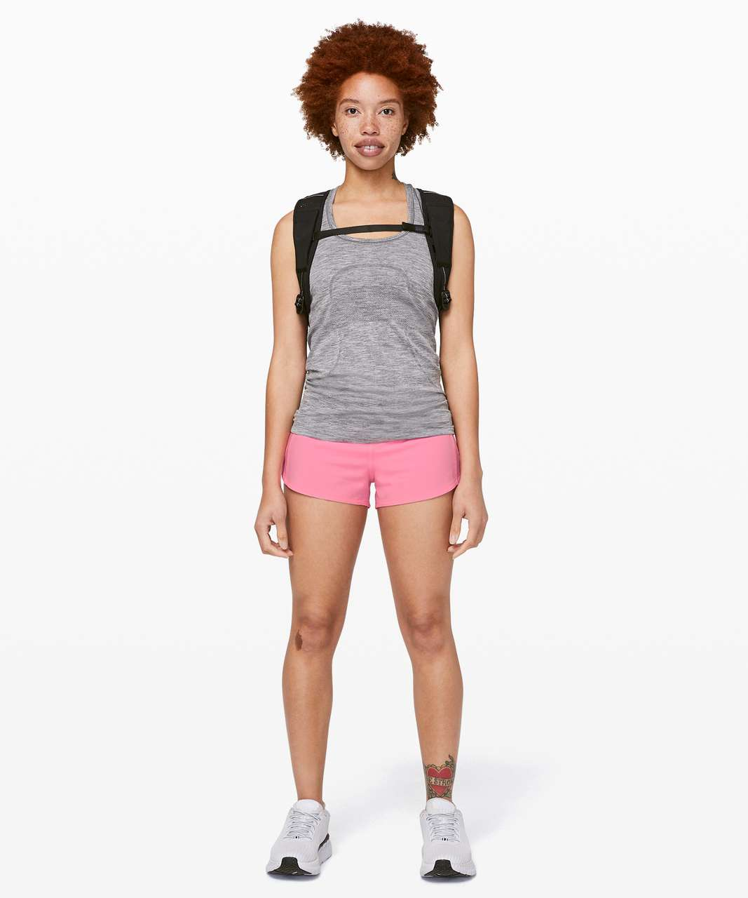 "Lululemon Speed Up Short *2.5"" - Pink Shell"