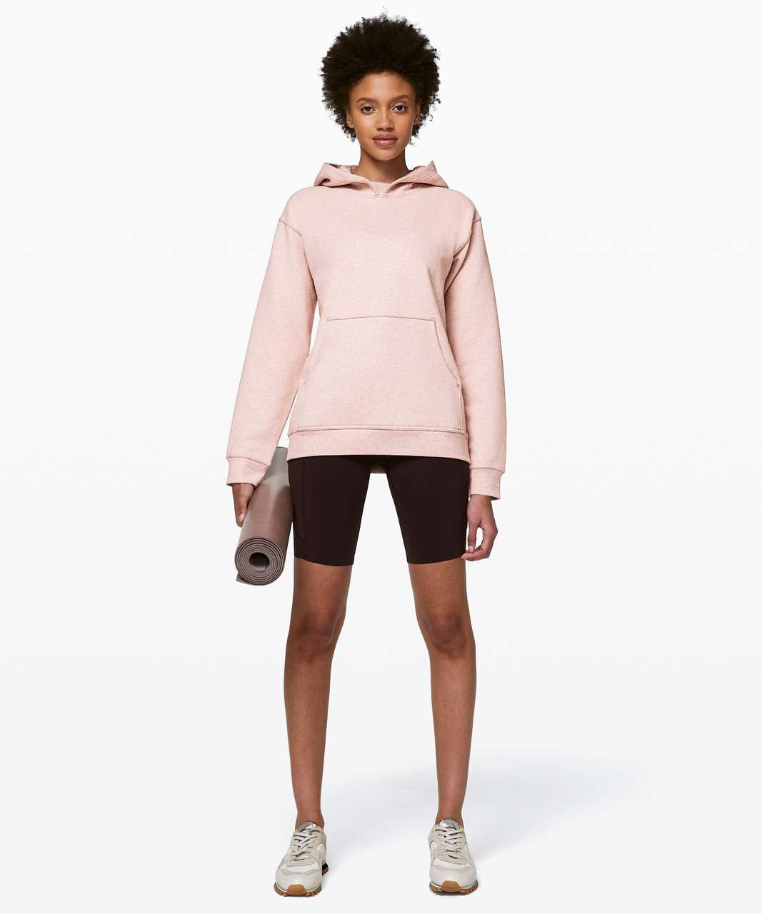 Lululemon All Yours Hoodie - Heathered Mink Berry / Mink Berry