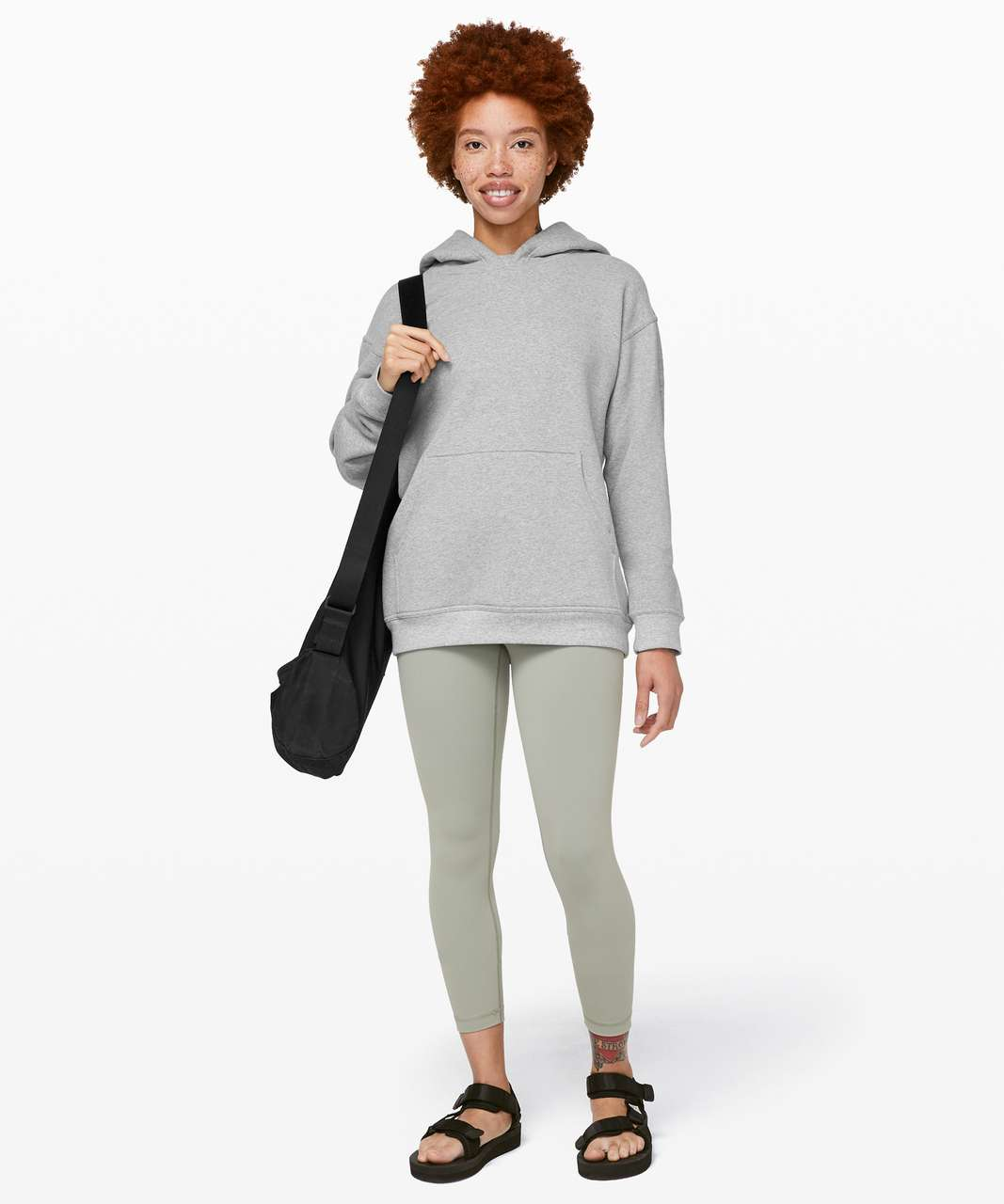Lululemon All Yours Hoodie - Heathered Core Light Grey / Silver Drop
