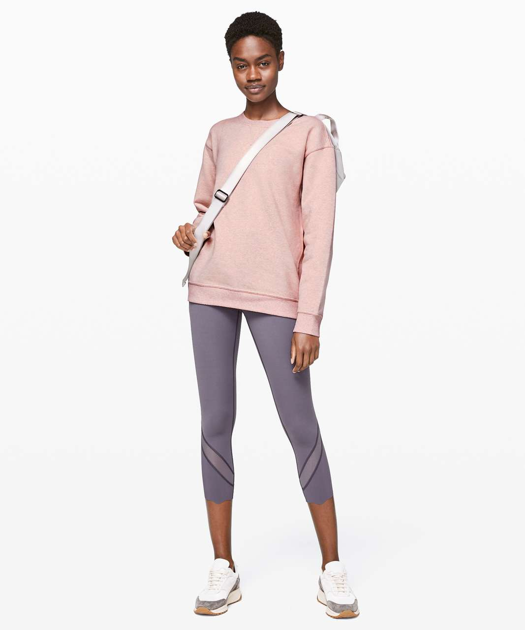 Lululemon All Yours Crew - Heathered Mink Berry / Mink Berry