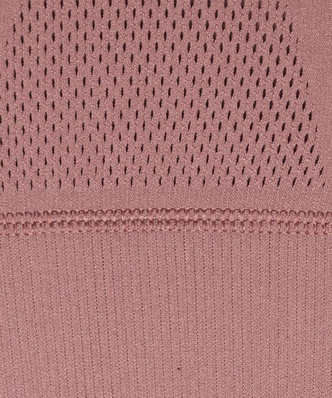 Lululemon Reveal Bra Precision *lululemon X Barrys - Red Dust