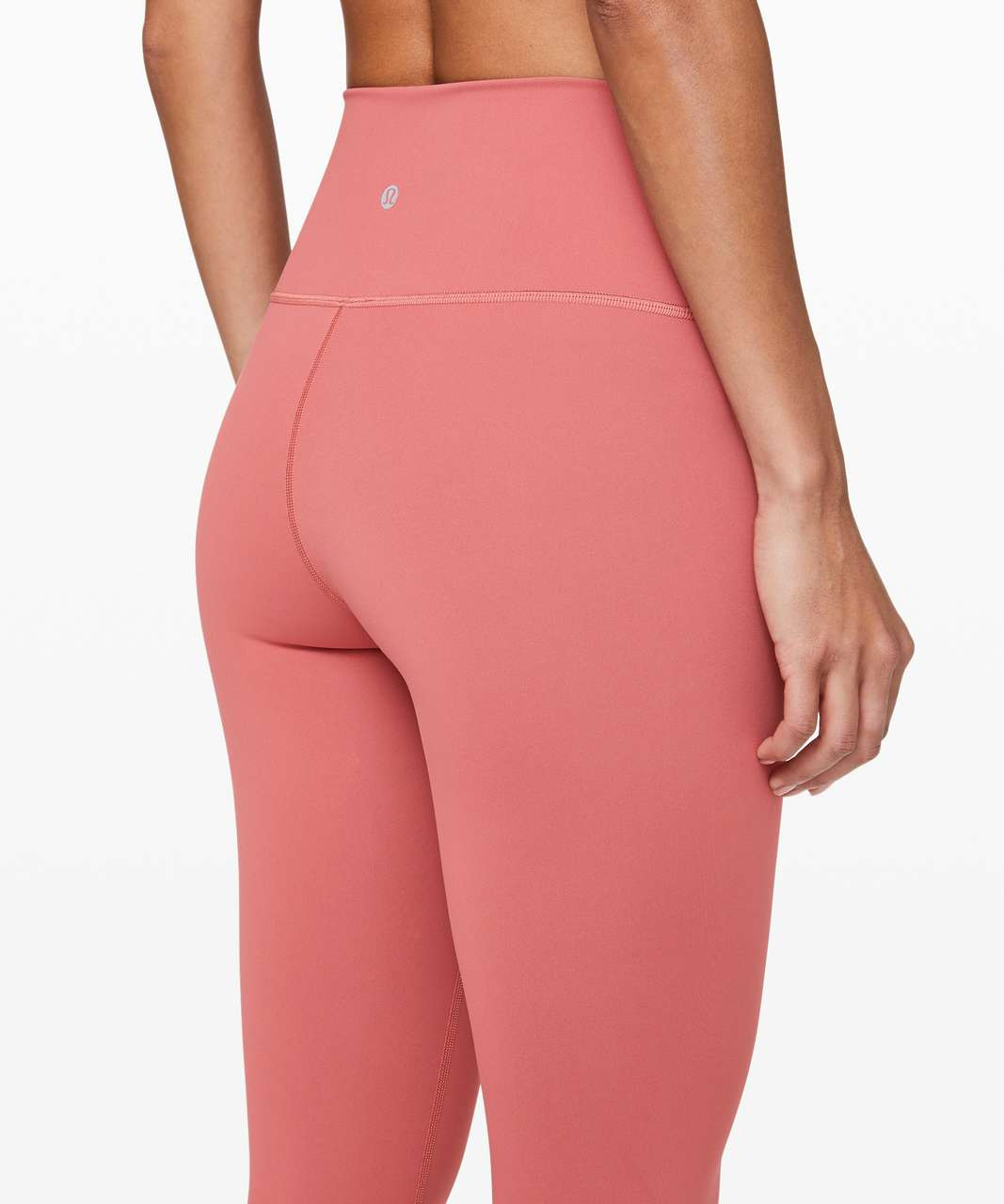 "Lululemon Wunder Under High-Rise Tight 25"" *Full-On Luxtreme - Rustic Coral (First Release)"