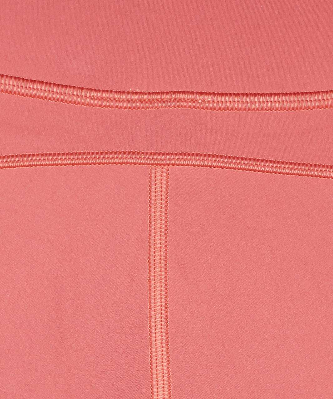 """Lululemon In Movement Tight 25"""" *Everlux - Rustic Coral"""