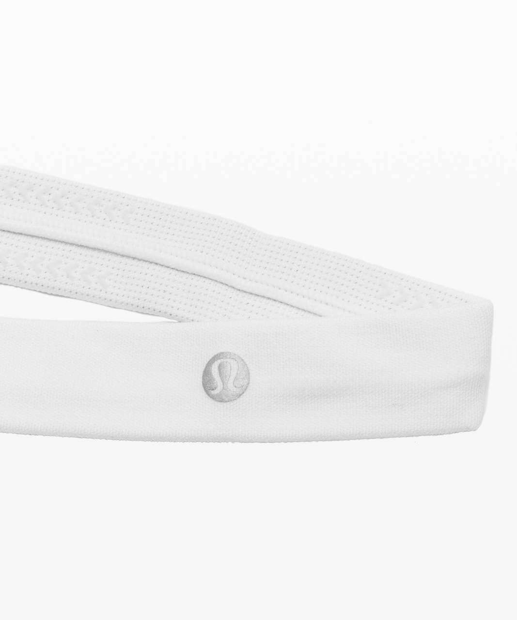 Lululemon Cardio Cross Trainer Headband - White / White (First Release)