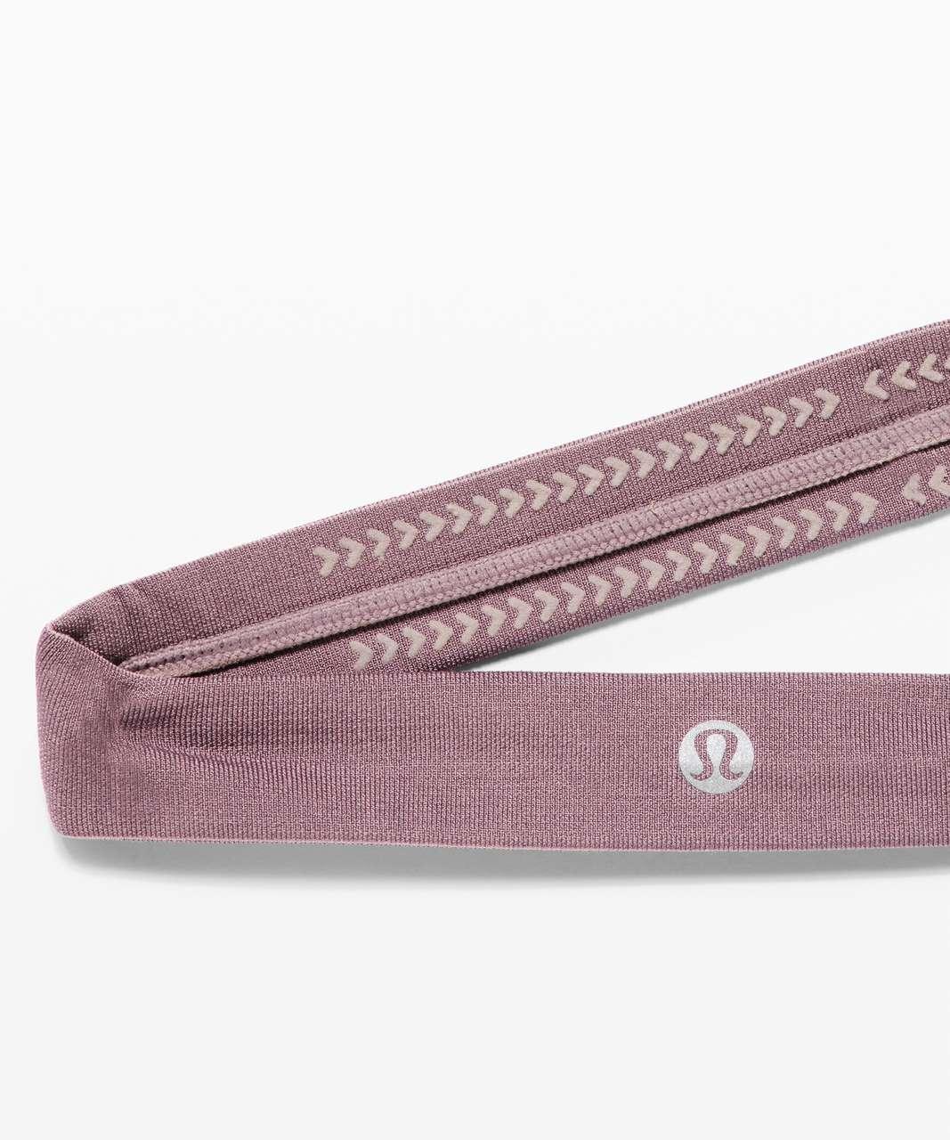 Lululemon Cardio Cross Trainer Headband - Smoky Blush / Frosted Mulberry