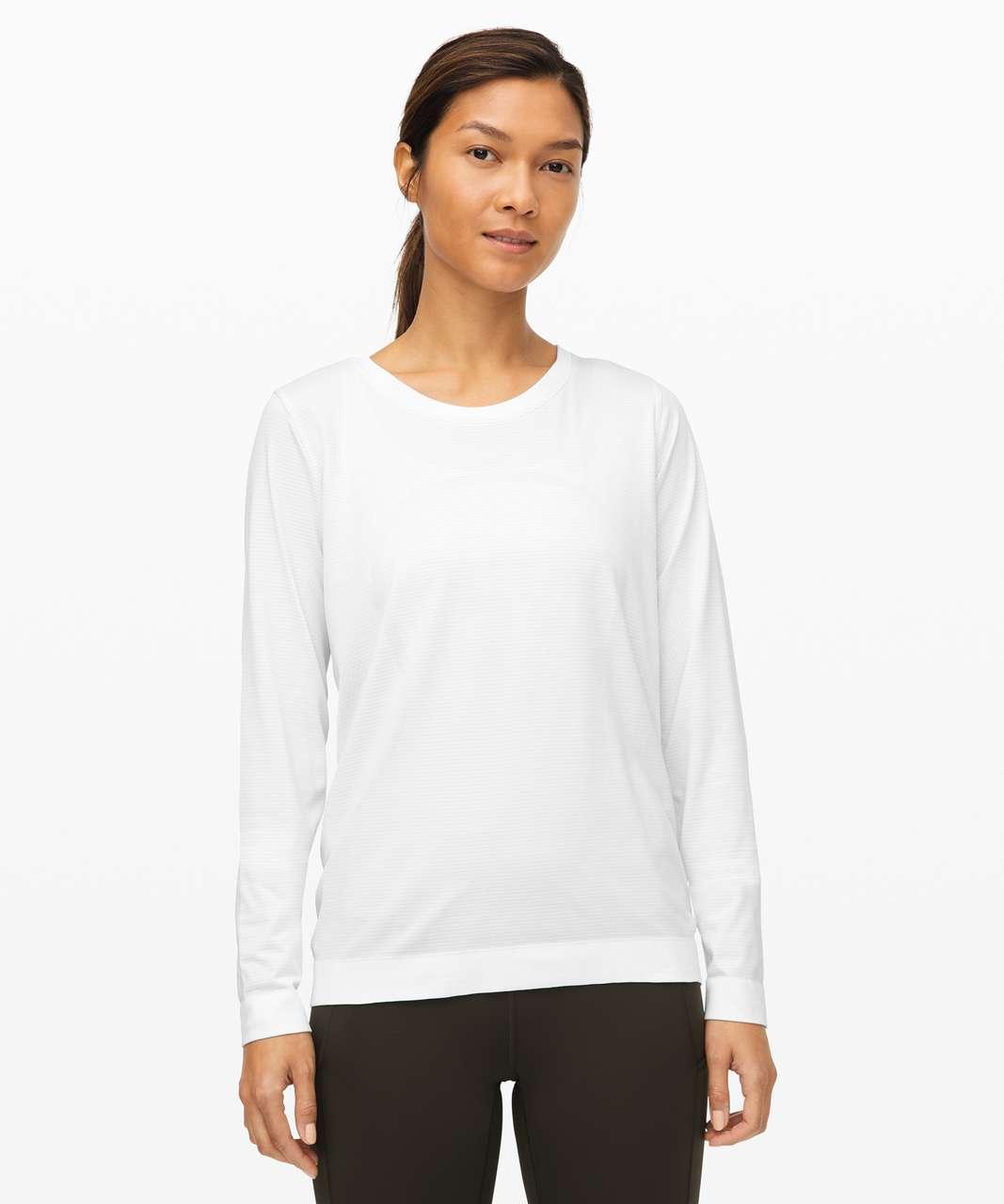 Lululemon Swiftly Relaxed Long Sleeve - White / White