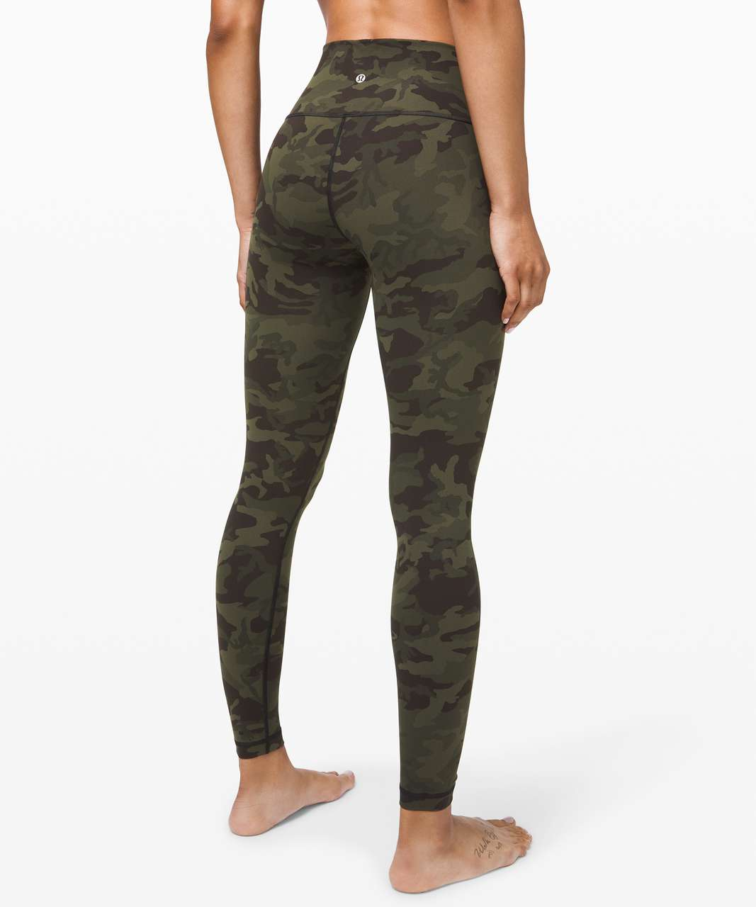 "Lululemon Wunder Under High-Rise Tight 28"" *Full-On Luxtreme - Incognito Camo Multi Gator Green"