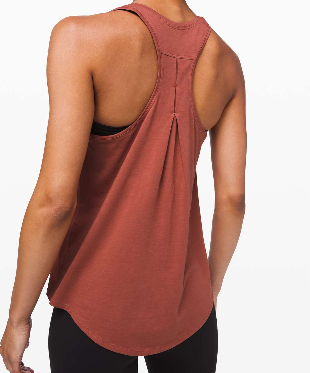 Lululemon Love Tank *Pleated - Rustic Clay