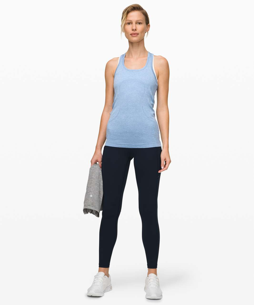 Lululemon Swiftly Tech Racerback - Ice Cap / Tempest Blue