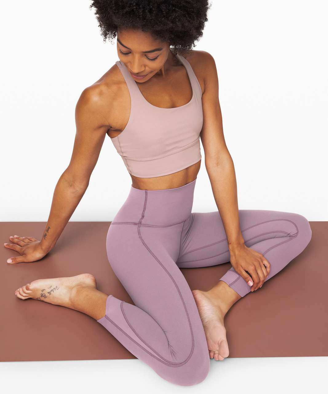 """Lululemon Align Pant 25"""" *Petal - Frosted Mulberry"""