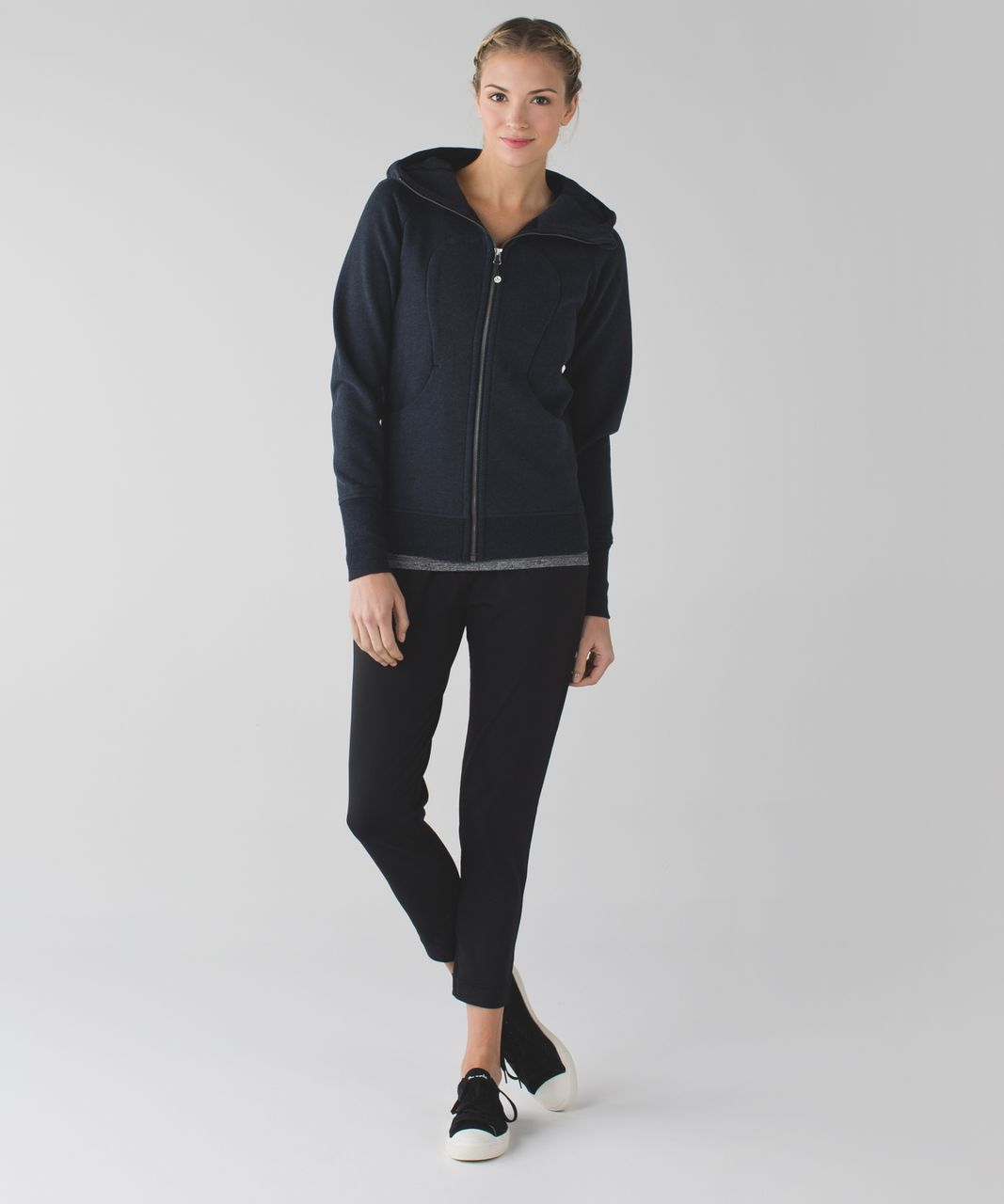 Lululemon Scuba Hoodie *Classic Cotton Fleece - Heathered Naval Blue
