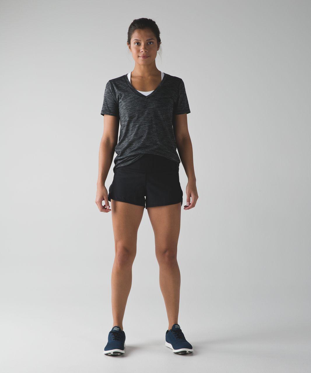 Lululemon Speed Short (High Waist) - Black
