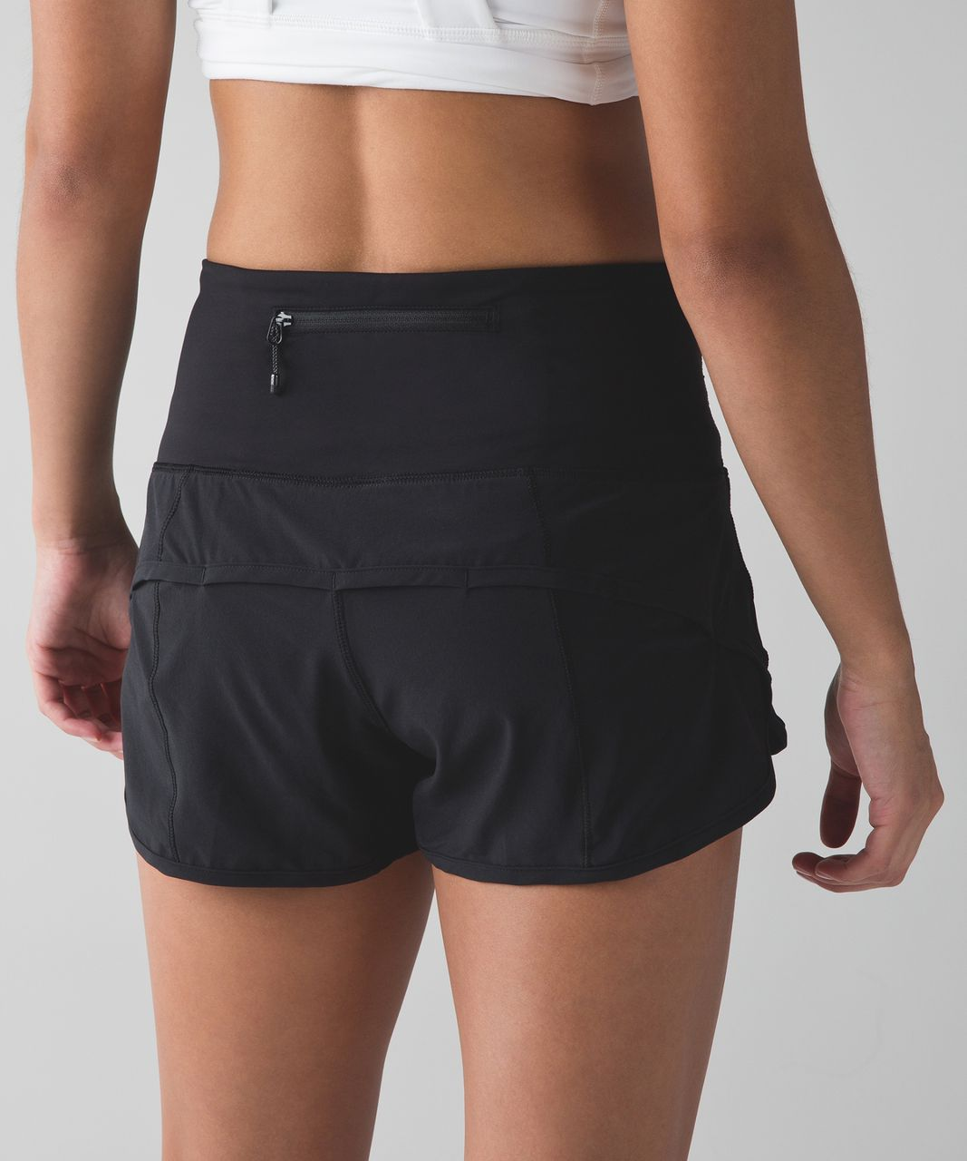 Lululemon Speed Short (High Waist) - Black