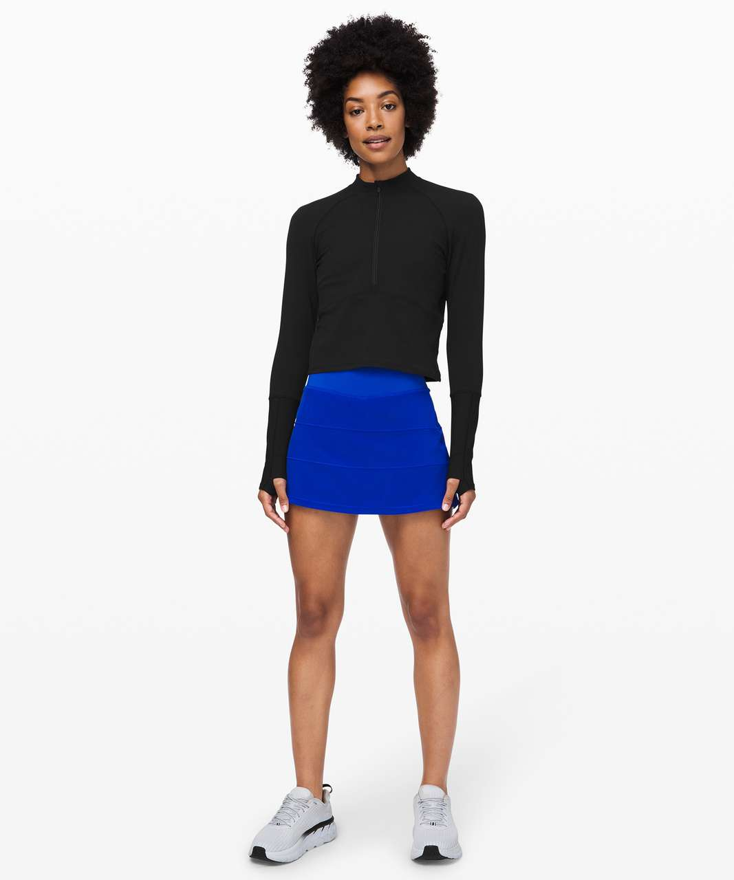 "Lululemon Pace Rival Skirt (Tall) *4-way Stretch 15"" - Jet Stream"