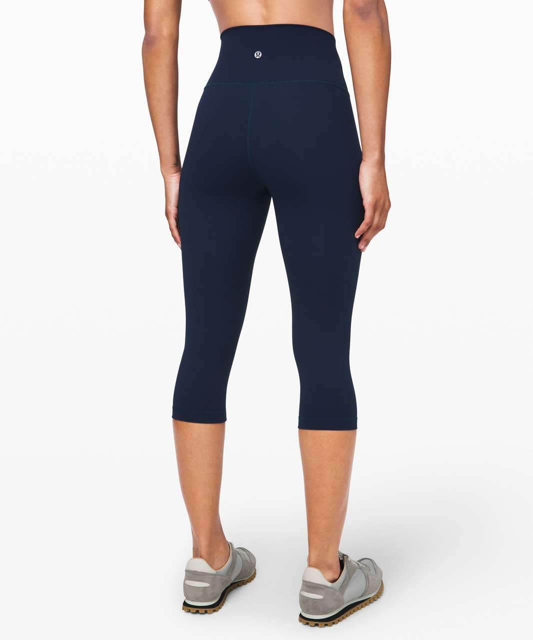 "Lululemon Wunder Under High-Rise 1/2 Tight Full-On Luxtreme 17"" - True Navy"