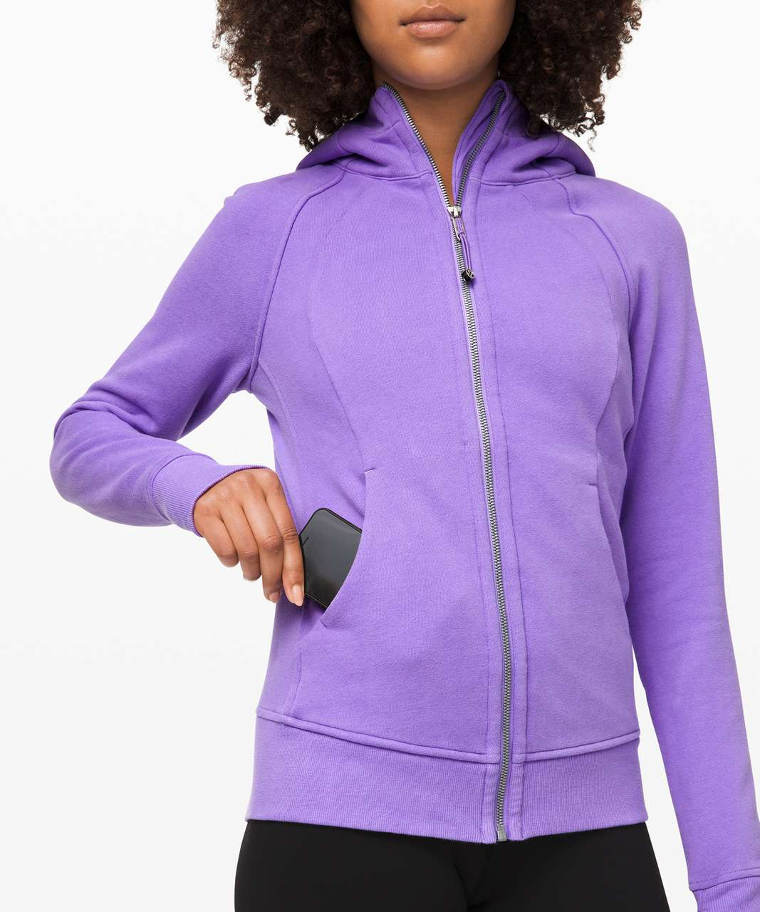 Lululemon Scuba Hoodie *Light Cotton Fleece - Mystic Iris