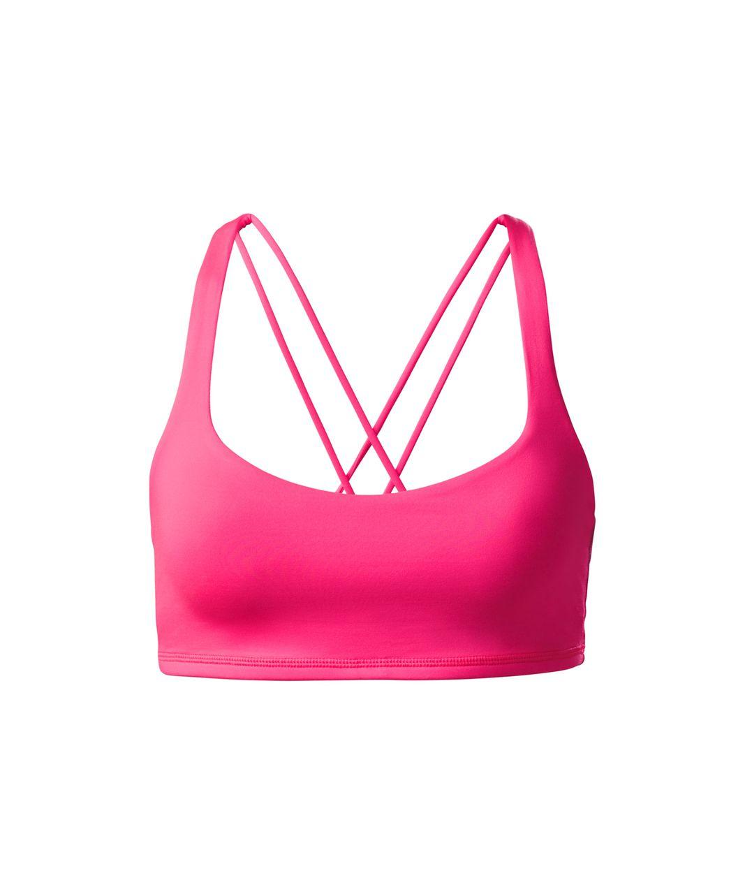 Lululemon Free To Be Bra - Neon Pink