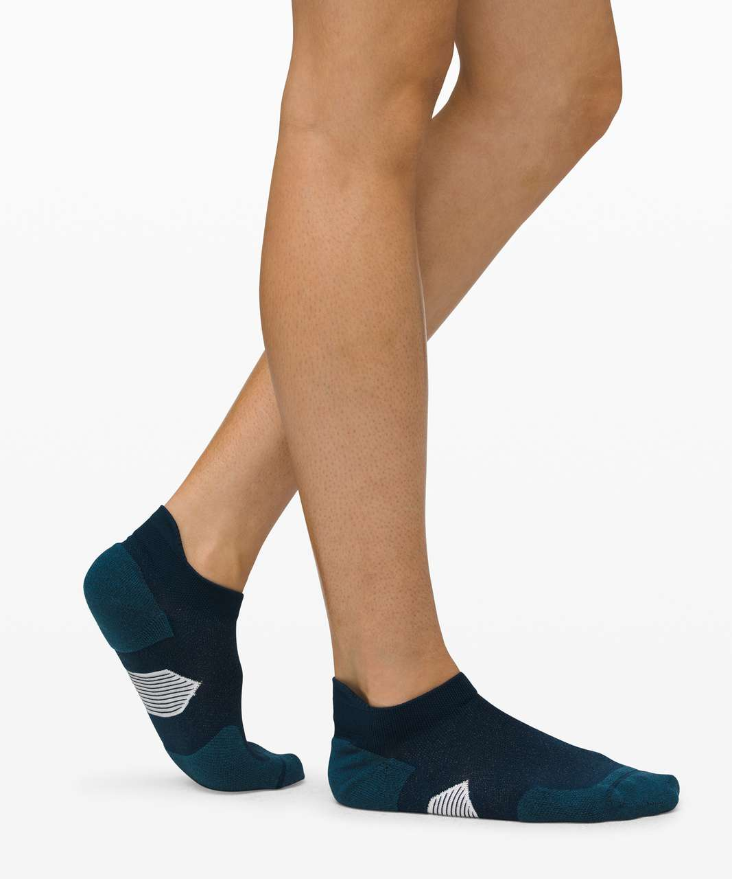 Lululemon Speed Sock *Silver - Night Diver / Pacific Teal