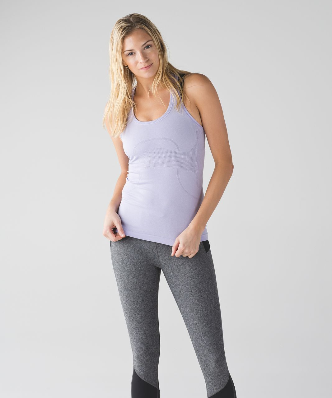 Lululemon Swiftly Tech Racerback - Heathered Lilac