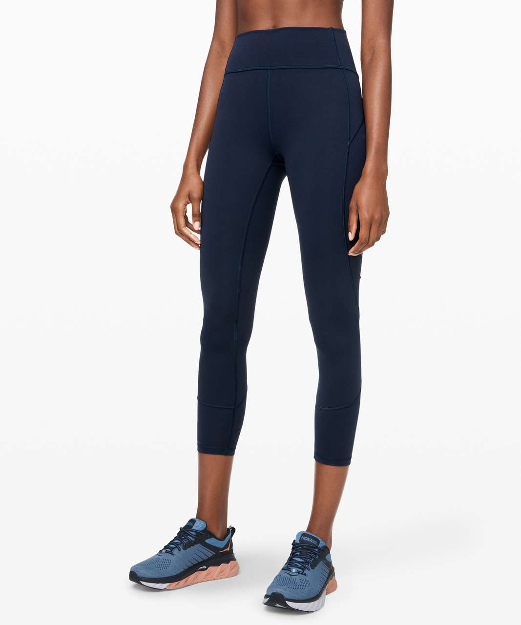 "Lululemon In Movement Tight 25"" *Everlux - True Navy"