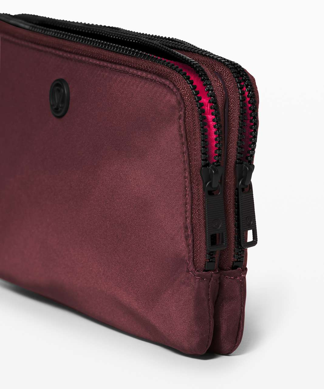 Lululemon Double Up Pouch - Black Cherry