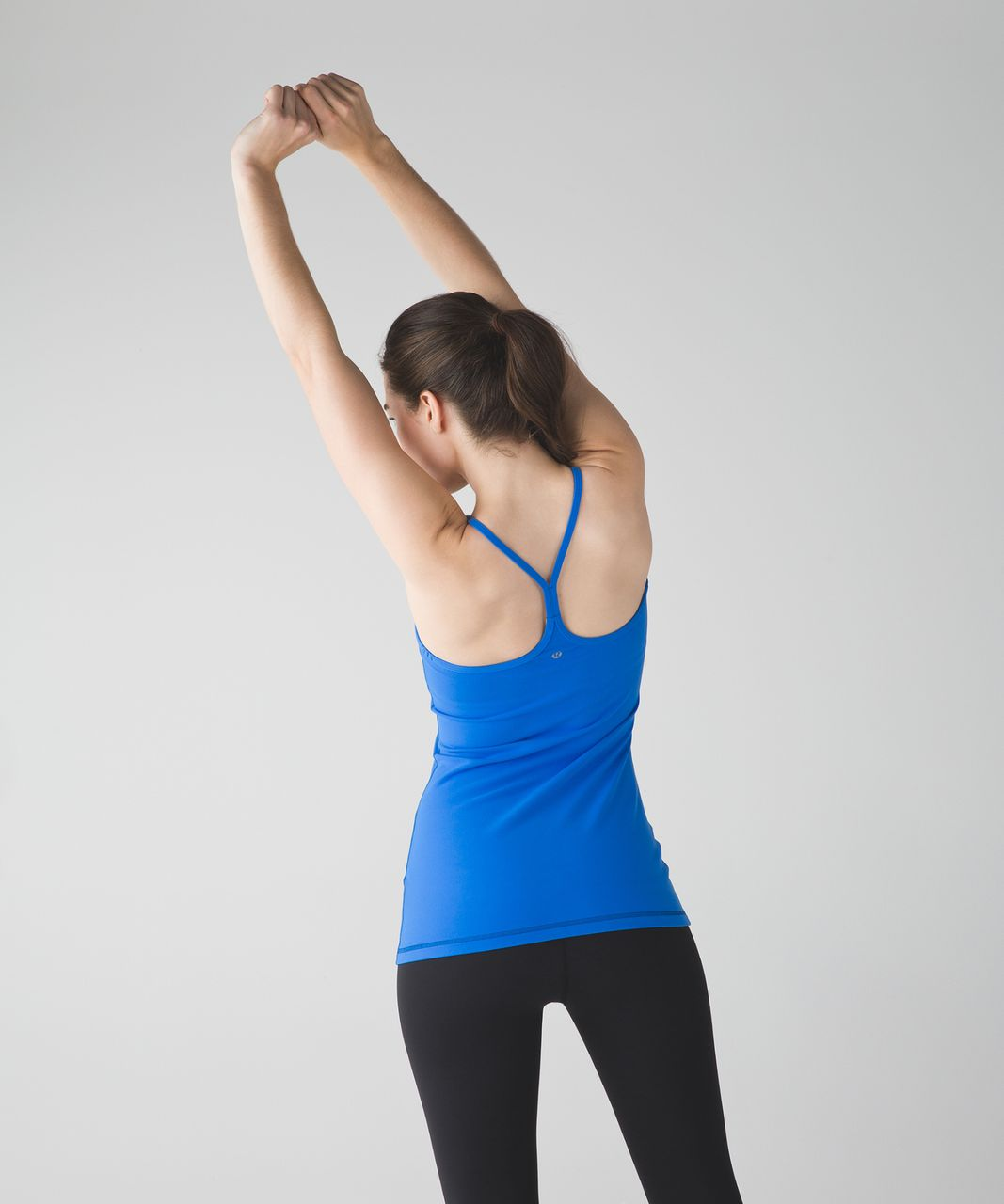 Lululemon Power Y Tank (Luon) - Pipe Dream Blue