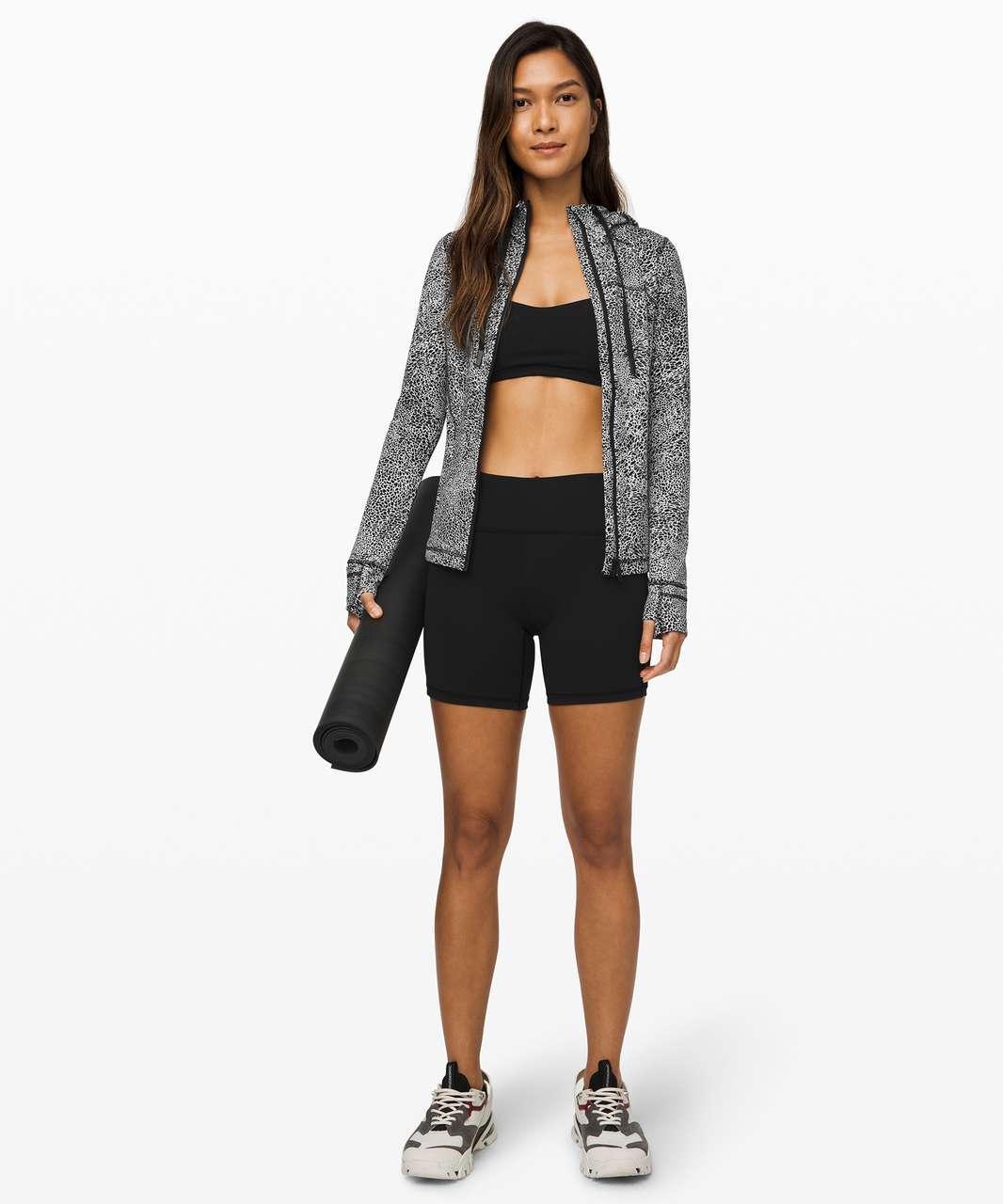 Lululemon Hooded Define Jacket *Nulu - Polar Shift Inverse Alpine White Black