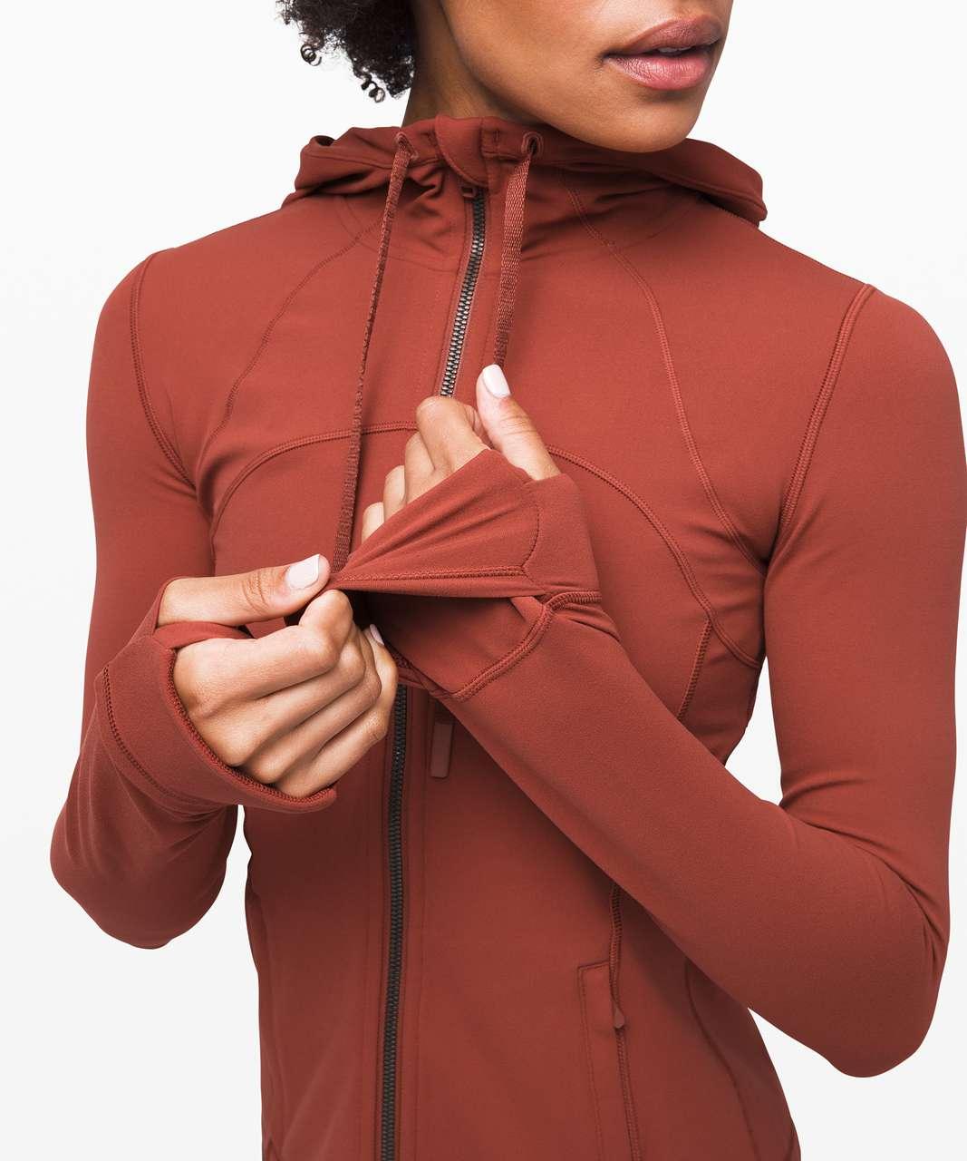 Lululemon Hooded Define Jacket *Nulu - Rustic Clay