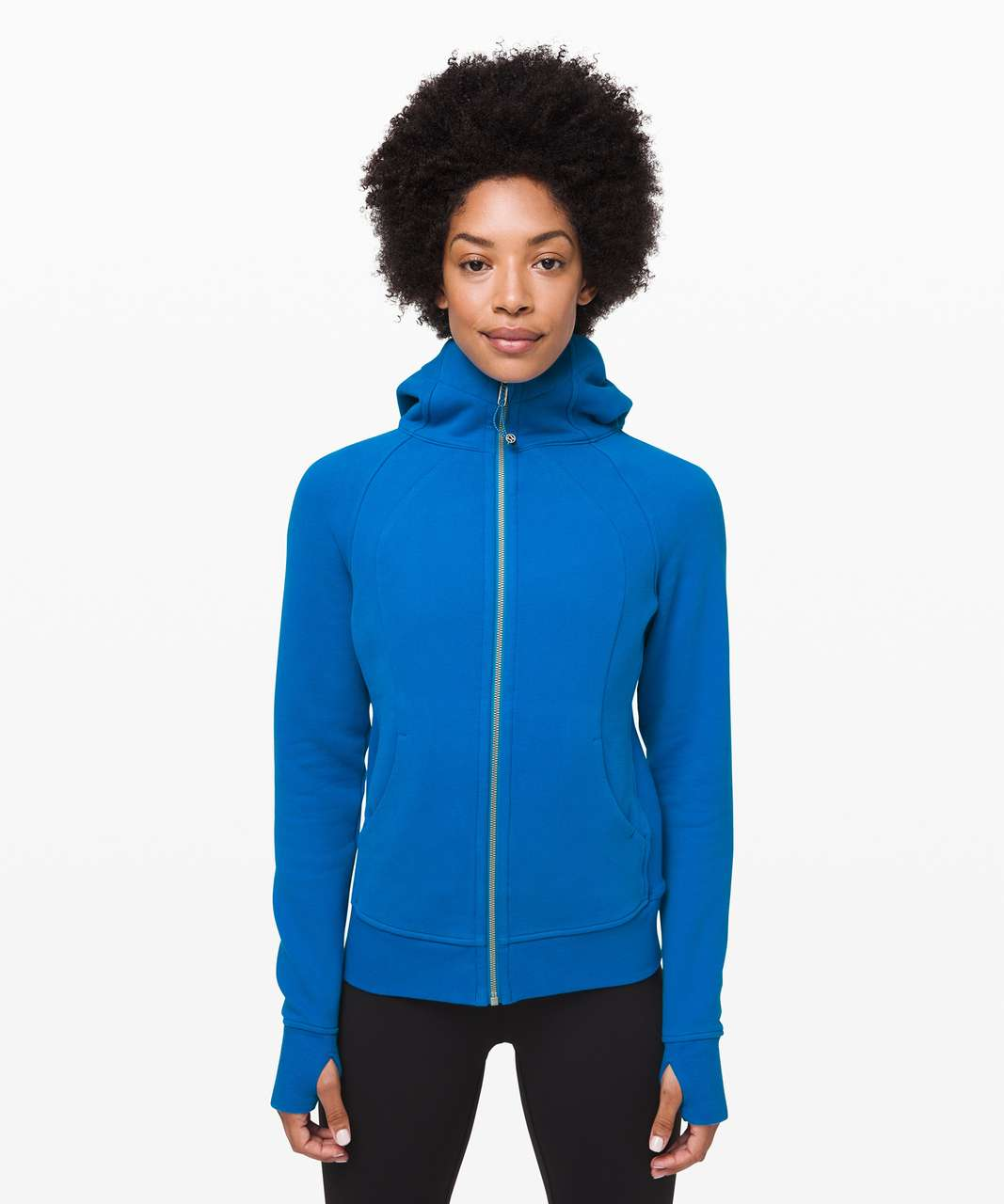 Lululemon Scuba Hoodie *Light Cotton Fleece - Amalfi Blue
