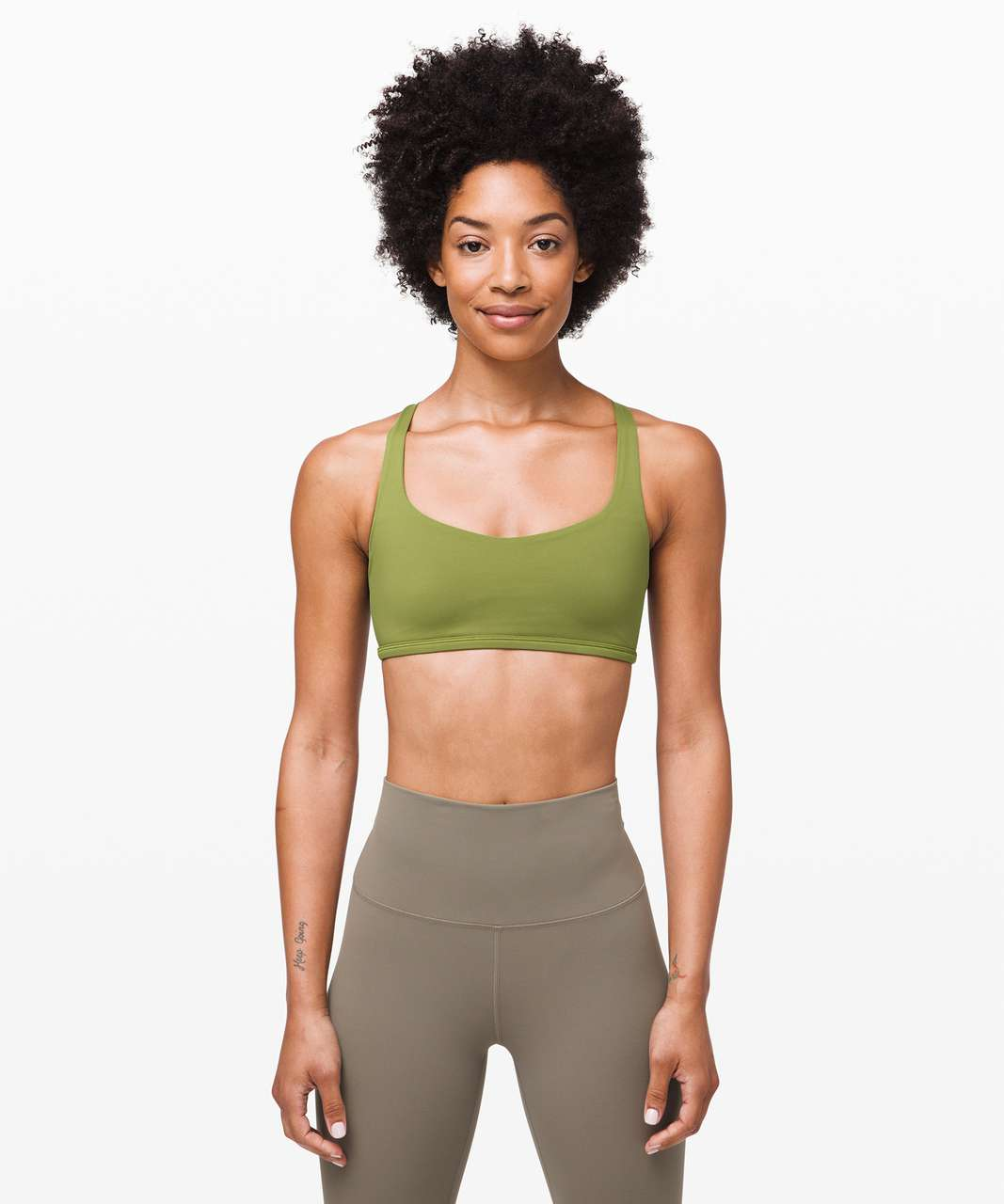 Lululemon Free To Be Bra (Wild) - Everglades