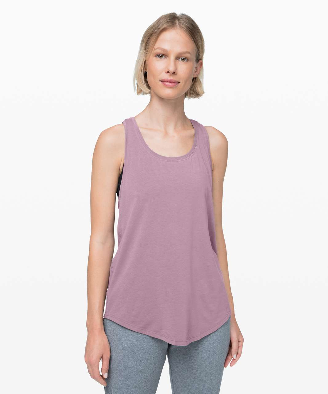 Lululemon Love Tank *Pleated - Frosted Mulberry