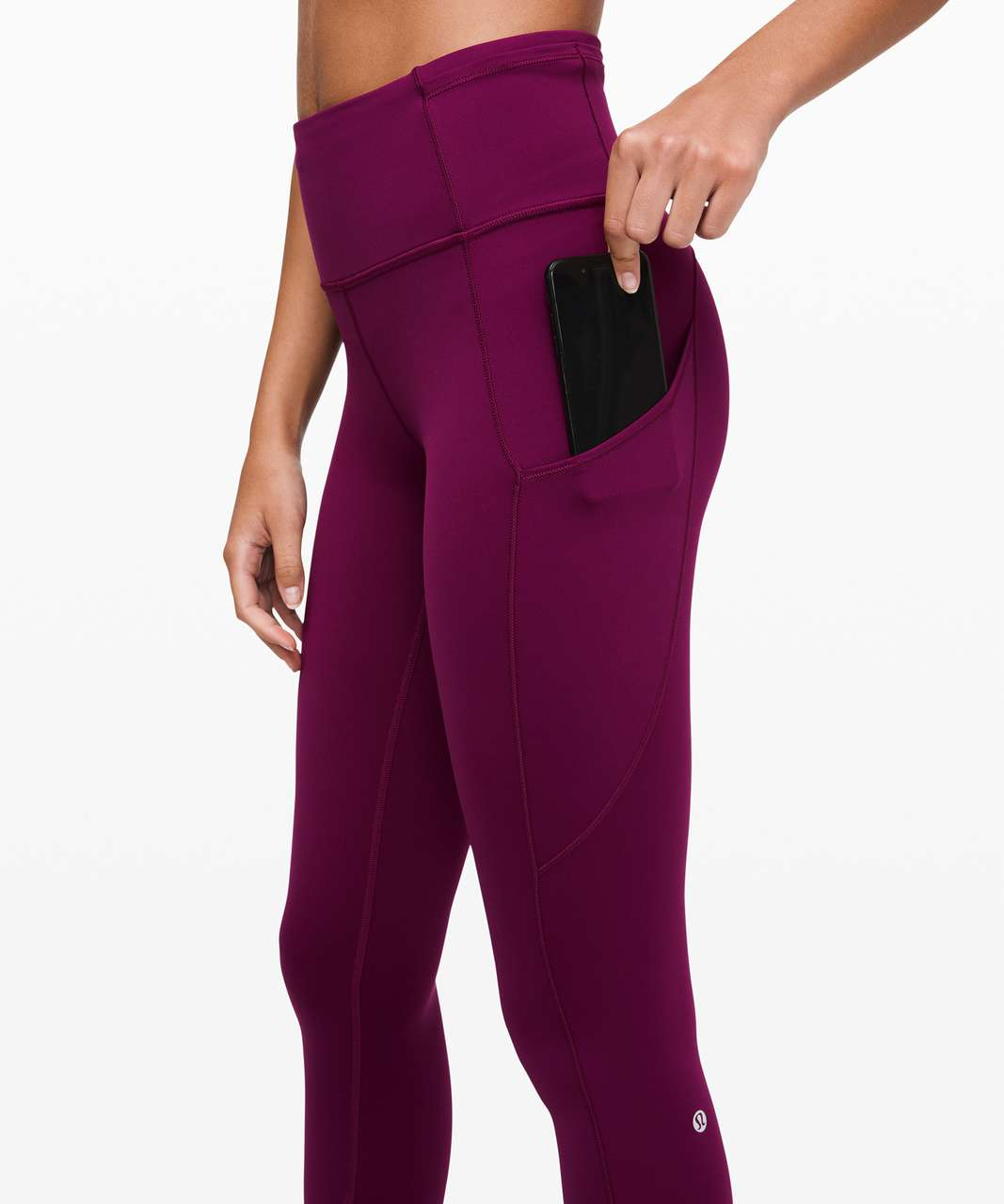 """Lululemon Fast and Free Tight II 25"""" *Non-Reflective Nulux - Marvel"""