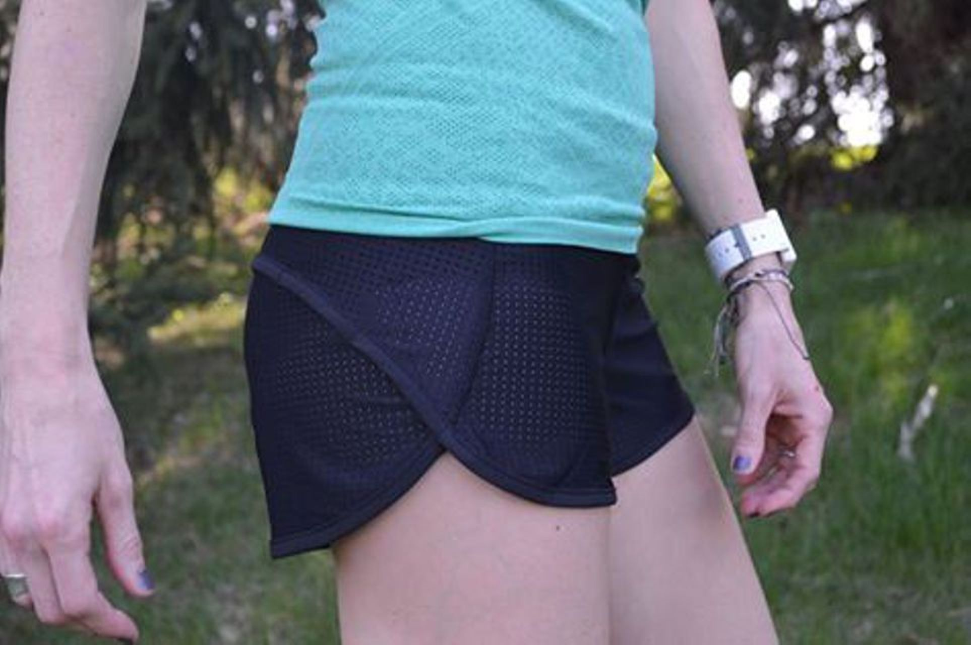 Lululemon Speed Short (Mesh) - Black