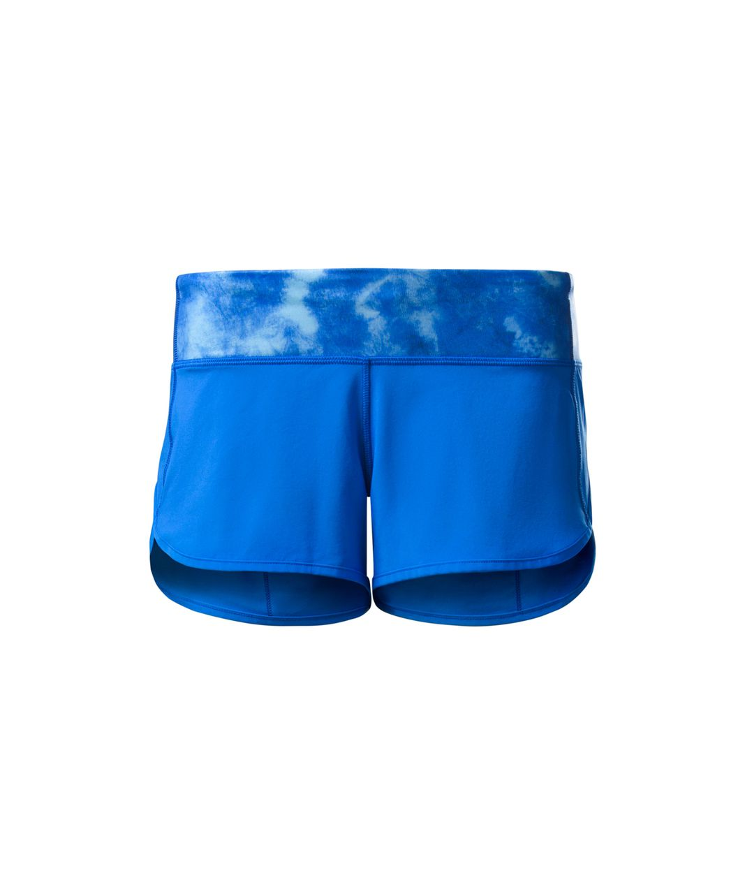 Lululemon Speed Short - Pipe Dream Blue / Tidal Trip Pipe Dream Blue