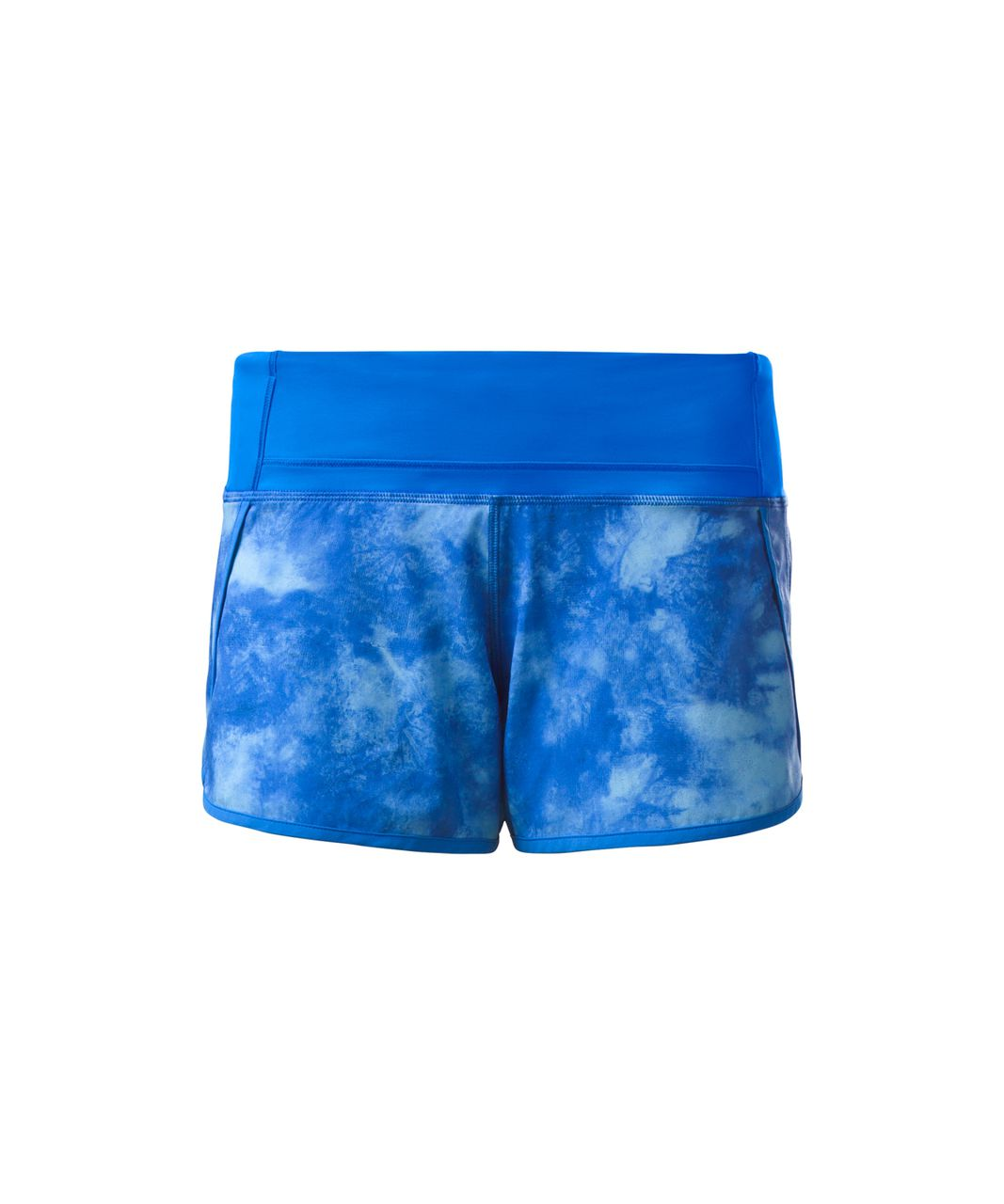 Lululemon Run Times Short (4-way Stretch) - Tidal Trip Pipe Dream Blue / Pipe Dream Blue