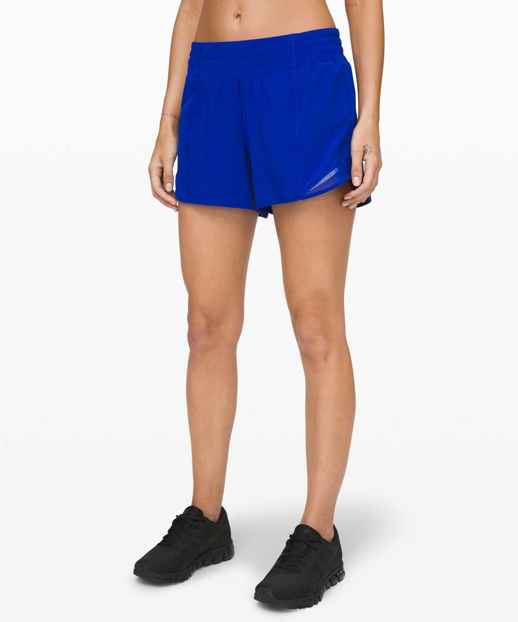 "Lululemon Hotty Hot Short *High-Rise Long 4"" - Jet Stream"