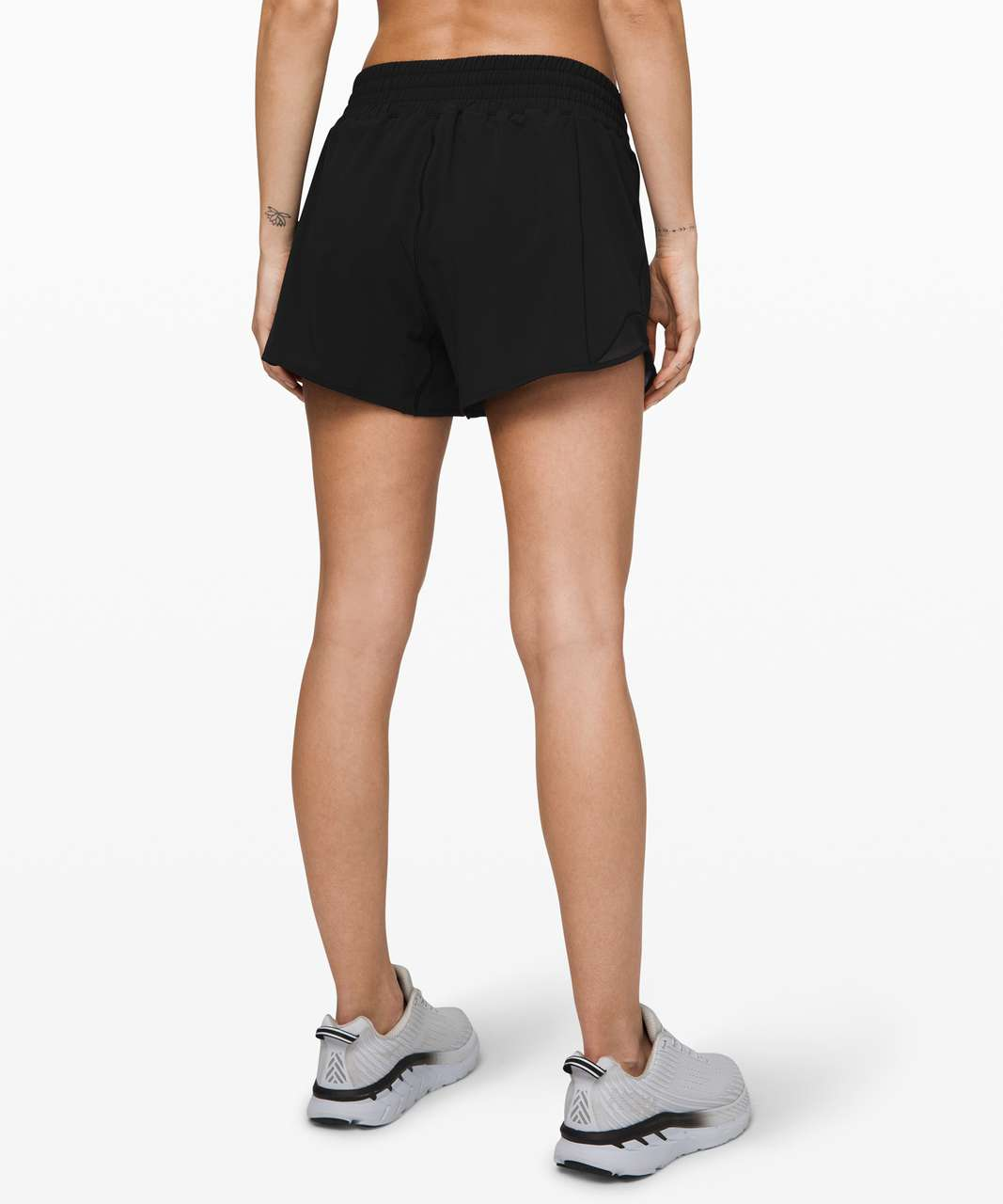 "Lululemon Hotty Hot Short *High-Rise Long 4"" - Black"