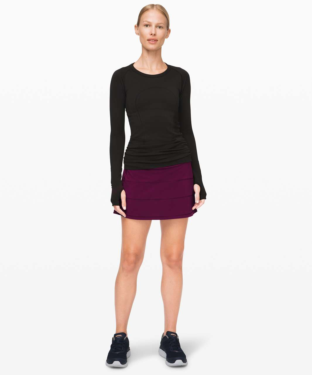 """Lululemon Pace Rival Skirt (Tall) *4-way Stretch 15"""" - Marvel"""