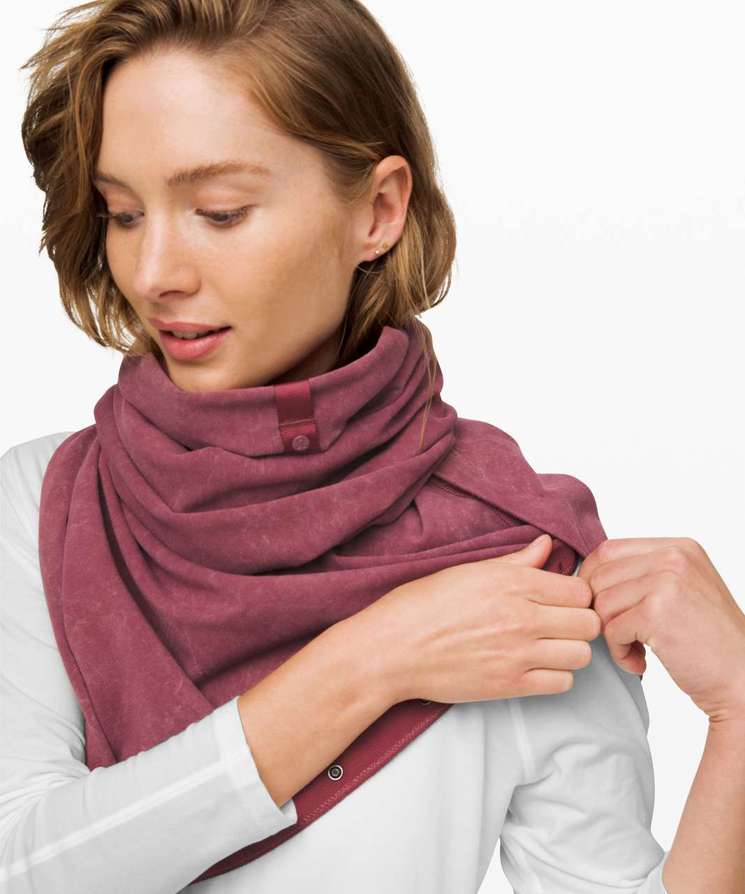Lululemon Vinyasa Scarf *French Terry - Washed Plumful