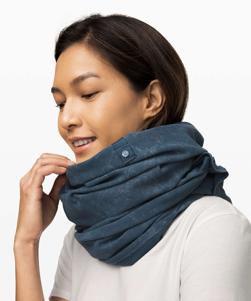 Lululemon Vinyasa Scarf *French Terry - Washed Code Blue